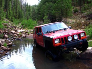 my old 2000 XJ - miss her tons