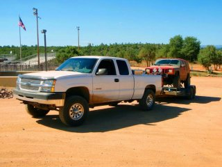 Sold the truck due to being laid off, same with the XJ - still have the trailer though